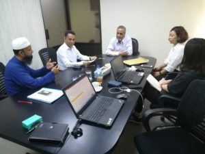 Technical discussion with T.K.Group (Bangladesh)