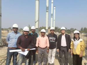 On site inspection for Unitex (Bangladesh)