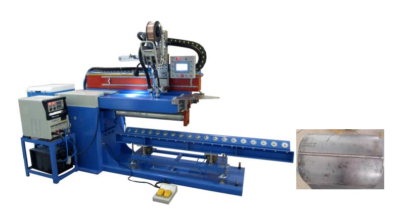 longitudinal seam welding machine