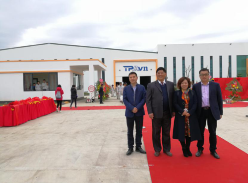 Our customer TPA Vietnam opening ceremony